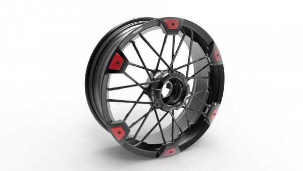 JoNich Wheels SX - Triumph Speed Triple 1050 (05-07)